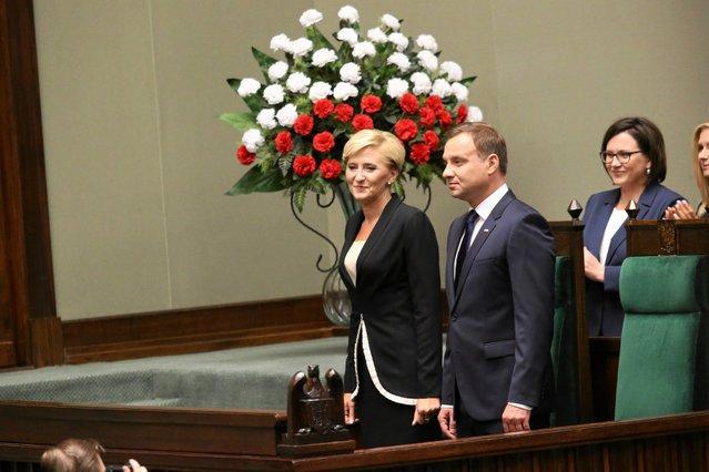Już ponad dwa lata minęły od zaprzysiężenia Andrzeja Dudy. Przez te dwa lata Agata Duda powiedziała niewiele.
