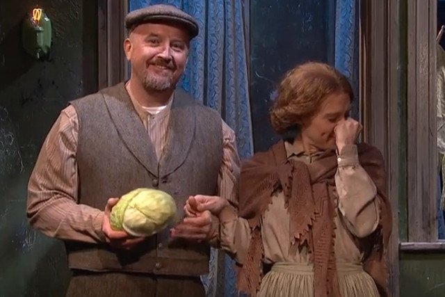 Skecz o Polakach w SNL robi furorę w sieci. Głównie ze względu na prześmieszny akcent Louisa CK.