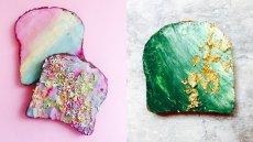 Tosty inspirowane Syrenką Ariel podbijają Instagram
