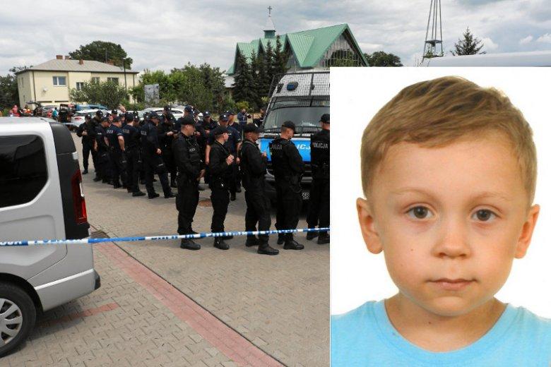 Poszukiwania 5-letniego Dawida Żukowskiego z Grodziska Maz.