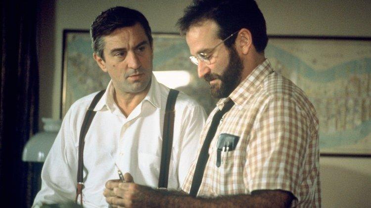 """Robert De Niro i Robin Williams w """"Przebudzeniach"""" (1990)"""
