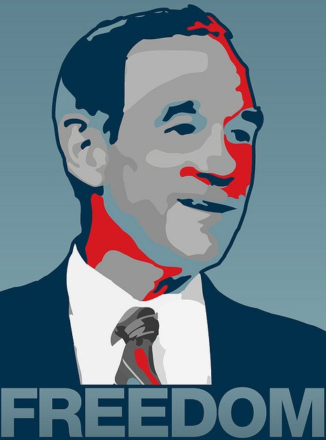 Ron Paul - fot. christopher f bauer