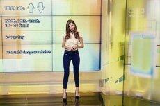Agnieszka Dziekan jest prezenterką pogody w TVP3 we Wrocławiu.