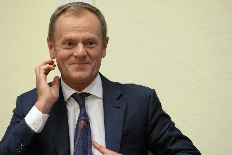Donald Tusk tym razem przyjechał do Polski na zaproszenie znanego aktora