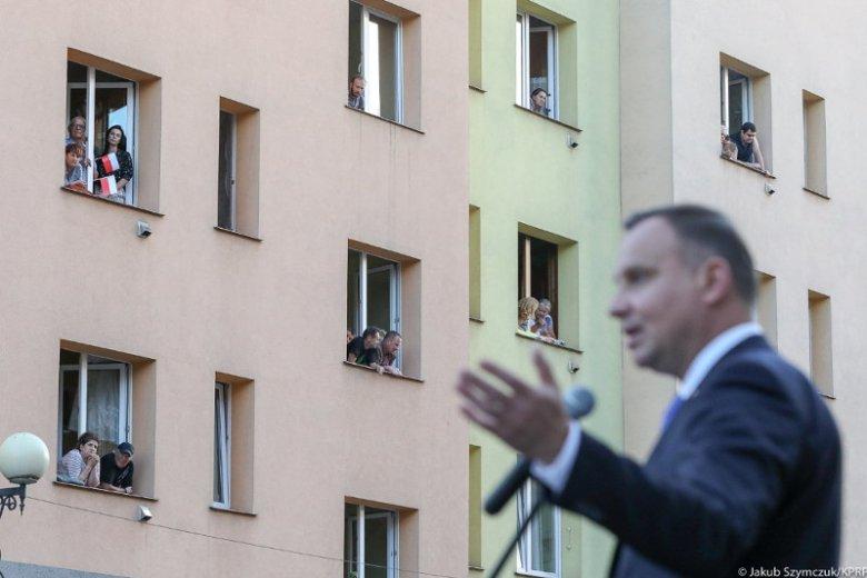 Andrzej Duda odwiedził Środę Śląską. Został honorowym obywatelem tego miasta.