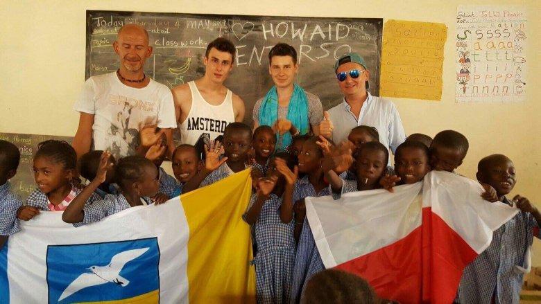 Karol Kowalik / Wojciech Kłodziński / Norbert Dąbek / Gambia 2017