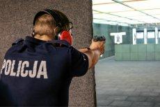 Policjant elitarnej jednostki odstrzelił sobie fragment dłoni na strzelnicy w Zielonce.