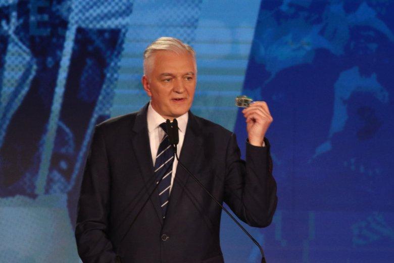 Jarosław Gowin pierwotnie miał przekazać swoją nagrodę na rzecz swojej partii.