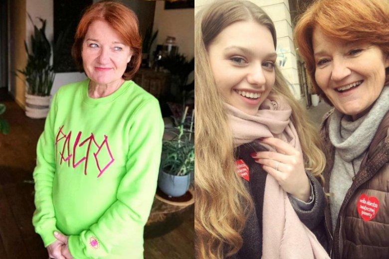 Serialowa wnuczka, po pracy na planie, dawała Winiarskiej lekcje obsługi Instagrama