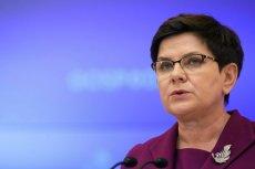 Beata Szydło reaguje ws. rezolucji o praworządności w Polsce