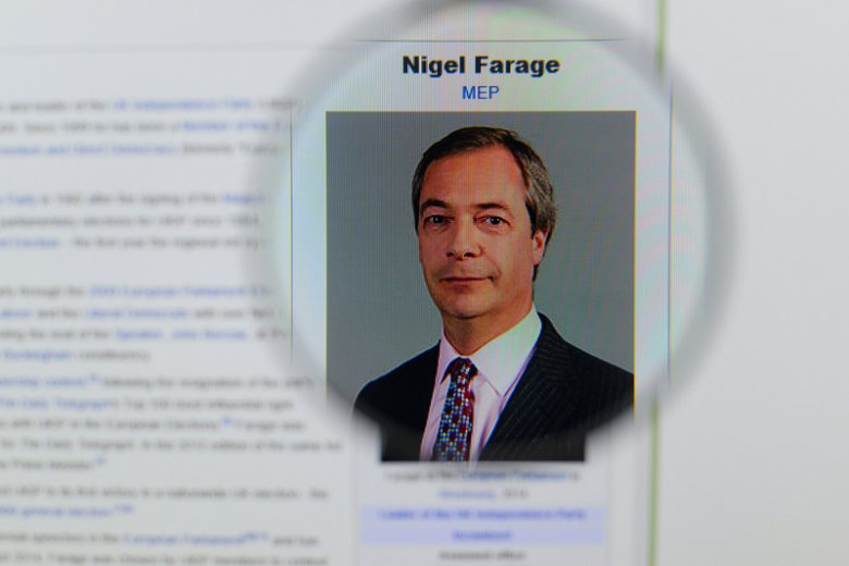 Partia, której liderem jest Farage, cieszy się coraz większym poparciem Brytyjczyków.