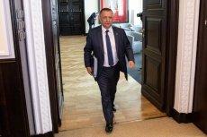 Prawnik Mariana Banasia bronił go w TVN24