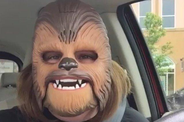 """""""Chewbacca Mom"""" w rocznym podsumowaniu Facebooka."""