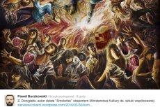 Autor obrazu o katastrofie smoleńskiej nowym  ekspertem w resorcie Piotra Glińskiego.