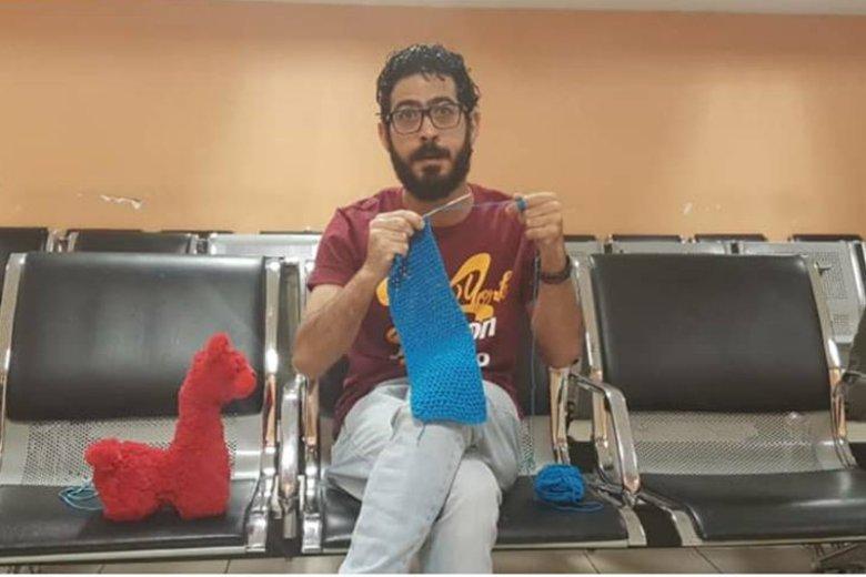 Hassan Al Kontar to uchodźca z Syrii, który spędził dziewięć miesięcy na terminalu lotniska w Kuala Lumpur.