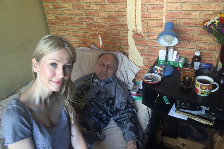 Magdalena Ogórek zamieściła na Twitterze zdjęcie z apelem o pomoc dla powstańca warszawskiego.