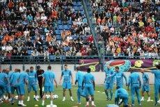 Trening reprezentacji Holandii na stadionie Wisły Kraków