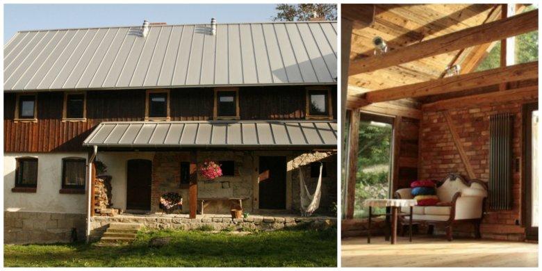 Stara stodoła zamieniła się w przytulną przestrzeń artystyczną.
