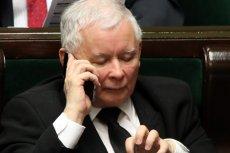 Prezes PiS Jarosław Kaczyński podczas posiedzenia Sejmu. Zdjęcie ilustracyjne.