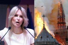 Magdalena Ogórek o pożarze Katedry Notre Dame: przybędzie nowy meczet.