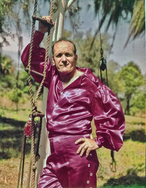 Karl Wallenda w latach '60.