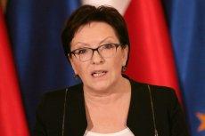 Ewa Kopacz nie widzi nic złego w tym, że premier Szydło lata do domu wojskową CASĄ.