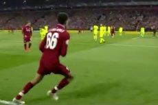 Goście z Barcelony zachowali się przy rzucie rożnym, jakby grali na co dzień w lidze amatorskiej.