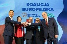 Rośnie poparcie dla Koalicji Europejskiej. Już może liczyć na więcej głosów niż PiS.