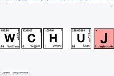 Uniwersytet Jagielloński zachęca w taki sposób do studiowania na Wydziale Chemii