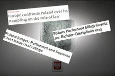 Zagraniczne media komentują spór na linii PiS – Sąd Najwyższy.