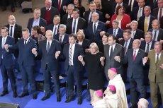 Politycy PiS tańczyli na 27. urodzinach Radia Maryja Abba Ojcze.