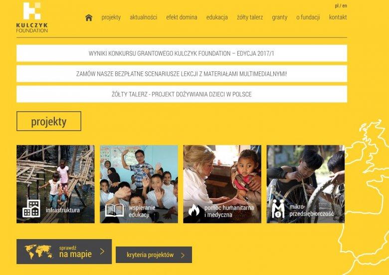 Od 2013 roku działa Kulczyk Foundation, którą założyła Dominika Kulczyk
