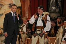 Andrzej Duda przyjeżdża na imprezę od dwóch lat. W tym roku część górali zdecydowało się zbojkotować przyjazd prezydenta.