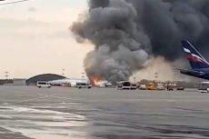 Bilans ofiar śmiertelnych pożaru samolotu Suchoj Superjet 100 w Moskwie drastycznie wzrósł.