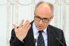 Przewodniczący KNF Andrzej Jakubiak sabotuje rząd?