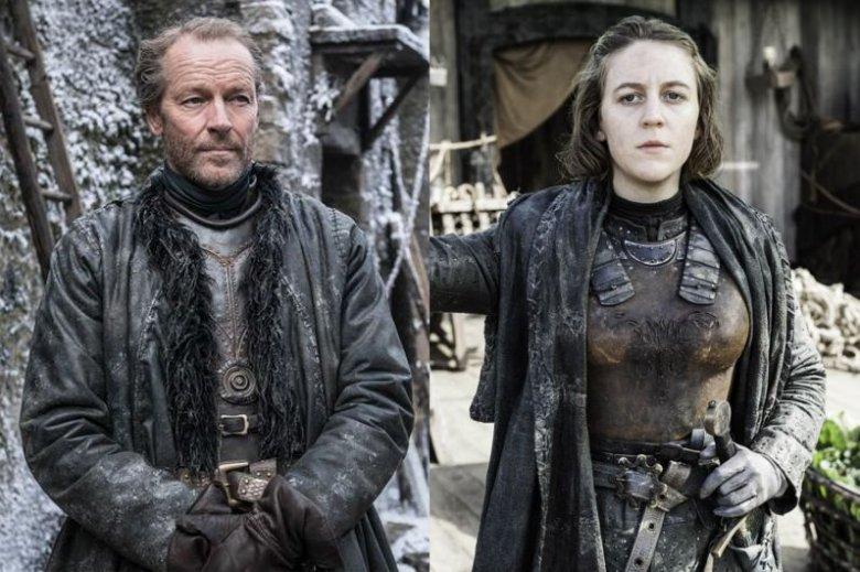 """Iain Glen (Ser Jorah Mormont) oraz Gemma Whelan (Yara Greyjoy) opowiadają o pracy na planie """"Gry o tron"""""""