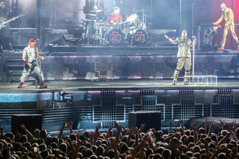 Rammstein dali w Chorzowie świetne show