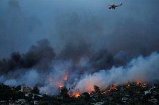 W pożarach w Grecji zginęły do tej pory 74 osoby.