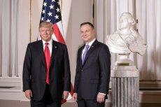 Andrzej Duda spotka sięz Trumpem w Nowym Jorku na jakieśpółgodziny.