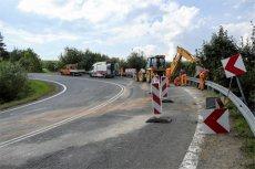 """Na """"zakręcie śmierci"""" pod Leszczawą Dolną doszło do kolejnego tragicznego wypadku."""