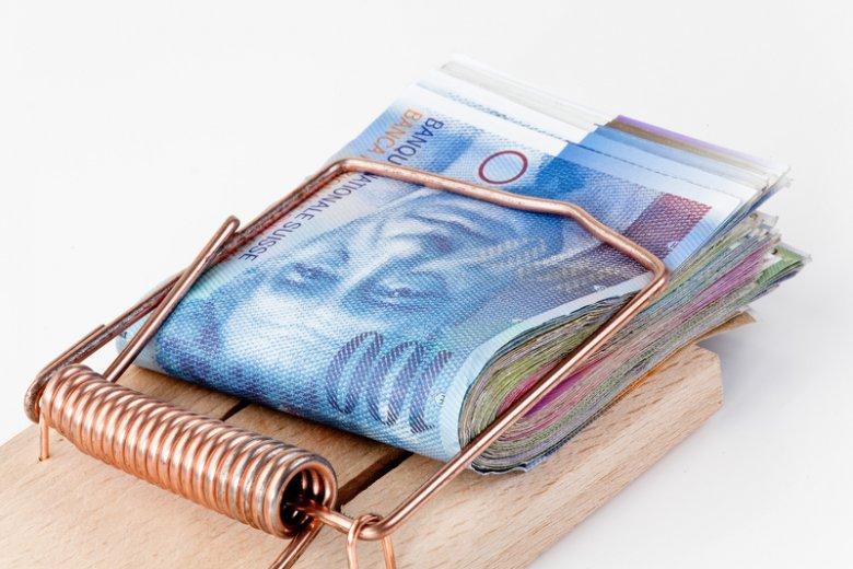 W pułapce długu zaciągniętego we franku szwajcarskim znalazło się ok. 550 tys. Polaków.
