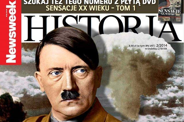 """W najnowszym numerze miesięcznika """"Newsweek Historia"""" można przeczytać o """"bombie Hitlera"""""""