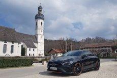 Mercedes CLA 250 4-MATIC z pakietem Edition 1 prezentuje się nad wyraz interesująco.