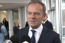 Donald Tusk w Dortmundzie ostro o konwencji PiS.