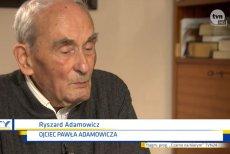Ojciec Pawła Adamowicza przebaczył mordercy swojego syna.