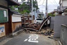 Silne trzęsienie ziemi w Osace - są zabici i ranni.