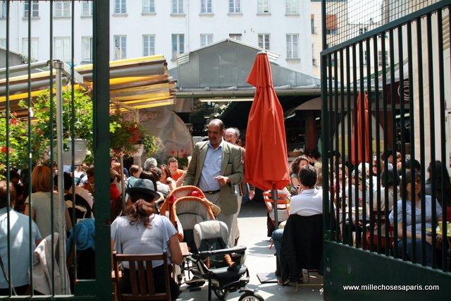Marche des enfants rouges, w dzielnicy Marais