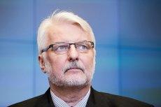 Witold Waszczykowski źle mówił w Polsatnews o Ursuli von der Layen. Wywiad wyemitowano z 24-godzinnym opóźnieniem.