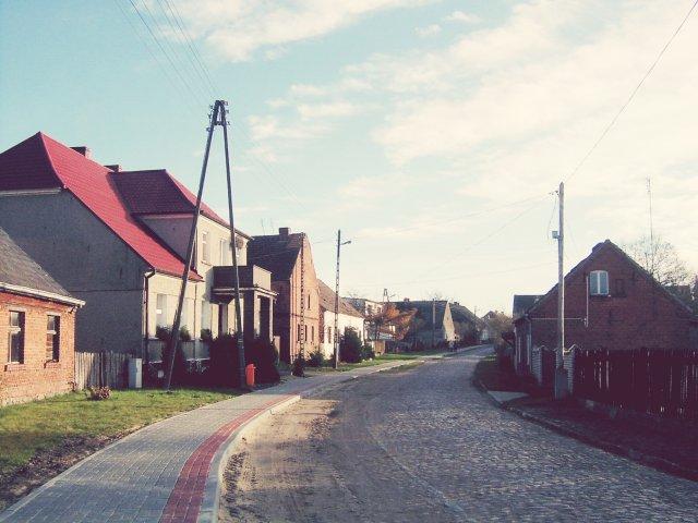 wieś o poranku