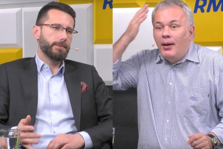 Radosław Fogiel przyznał wprost, że PiS złożyło protesty wyborcze, ponieważ domagały siętego lokalne struktury.